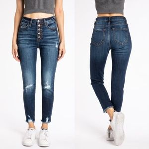 KanCan Jeans - NWT KanCan Jeans Geneva Button Fly Ankle Skinny